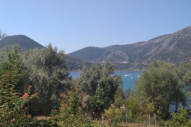 Land for Sale in Geni overlooking Bay of Vlycho, Lefkada Island