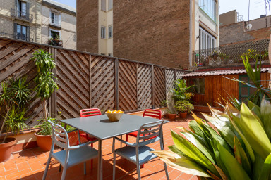 Feel Gràcia's Heartbeat! Free wifi+private Terrace, ideal for families!