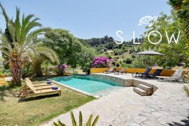 Villa Sa Coma with pool, garden & BBQ surrounded by virgin nature
