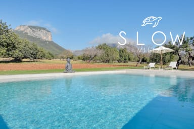 Villa Son Guinyol with breathtaking mountains views next to Alaró