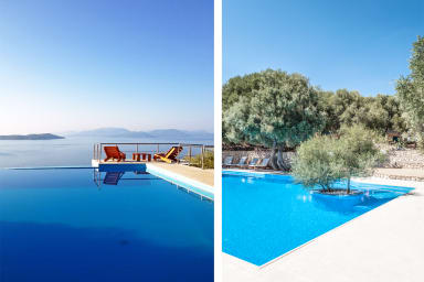Villa Coin de Paradis - Breathtaking 360° View on Ionian Islands