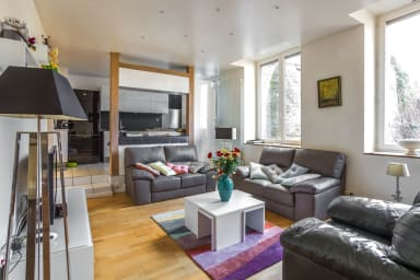Spacious 3-bedroom apartment on Place Bellevue in Lyon – Welkeys