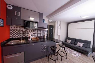 studio appart-hôtel neuf côté Saône à la gare de la part Dieu