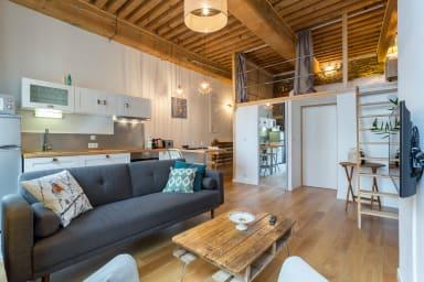 Magnifique appartement en plein centre-ville