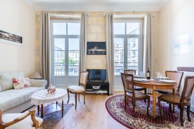 Superbe appartement Place de la Bourse