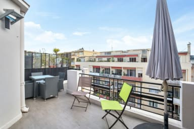 Sunny apartment with terrace and AC in the heart of Nice – Welkeys