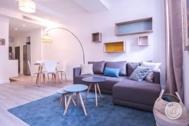 Superbe appartement moderne et décoré Nice !