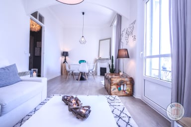 Beautiful luminous apartment in the heart of Cannes