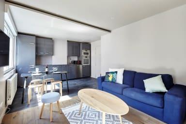 Modern 1BR Home in Batignolles