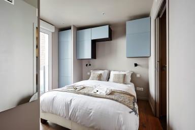 Appartement moderne 1-Chbres avec balcon à Batignolles