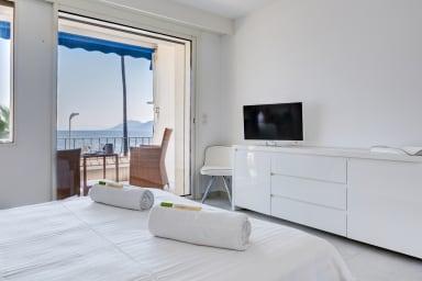 IMMOGROOM- 3*** Sea view Panoramic terrace-1 min beach-CONGRESS/BEACH