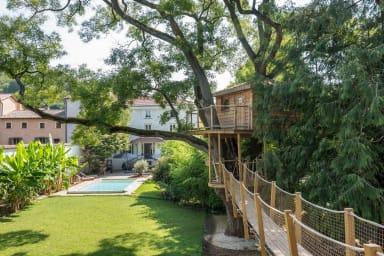 Le Séquoia - Splendide maison de maître récemment rénovée en bord de Saône