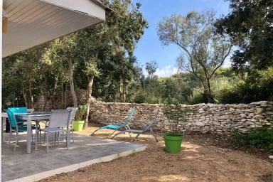 Villa T4, U Pinu, maquis, piscine