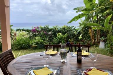 Appartement Kekaa - Tahiti - Punaauia- 1ch- piscine, jardin, vue - 3 pers
