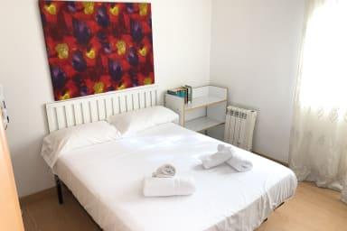 NEW! Apartamento para 3 personas cerca de Fira Gran Via