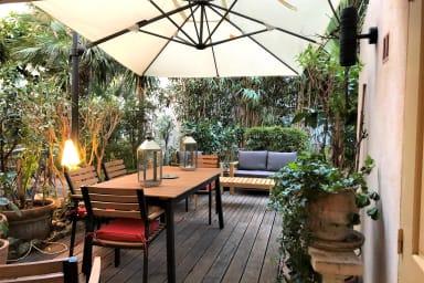 VANEAU ☀️ 3P en rez de jardin d'un maison bourgeoise