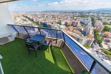 Appartement avec piscine et balcon, vue époustouflante sur Marseille