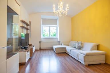 Appartement de deux chambres coloré Zizkov près du centre-ville par easyBNB