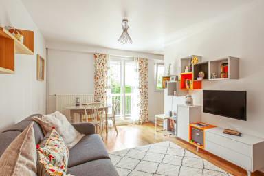 Appartement charmant avec balcon aux portes de Paris
