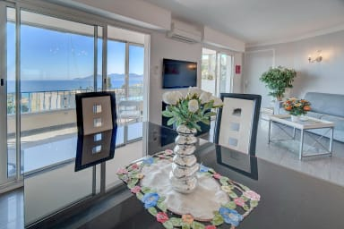 IMMOGROOM - Sea view terrace - A/C -   - Modern - CONGRESS/BEACHES