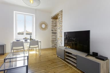 Large and confortable apartment on Bayonne city-center