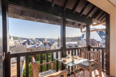Charmant et confortable 2 pièces, avec balcon au coeur de Deauville