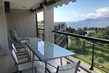 IMMOGROOM - 4**** Swimming- Pool -A/C-terrace - sea view -CONGRESS/BEACHES