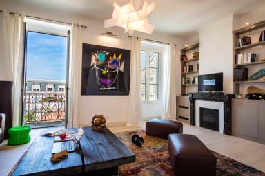 Keyweek Appartement d'Artiste avec Parking au coeur des Halles de Biarritz