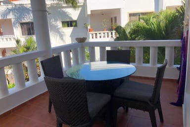 Cabarete Kite Beach 2 bed,2 bath condo 3rd floor
