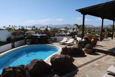 La plus belle villa avec une vue imprenable sur Puerto del Carmen