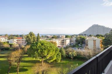 T3 avec parking, terrasse et incroyable vue à Villeneuve-Loubet - Welkeys
