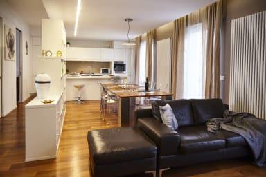 Casa Pepe: comodo appartamento con mobili di design