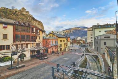 Schönes Appartement in Sion im Herzen der Altstadt