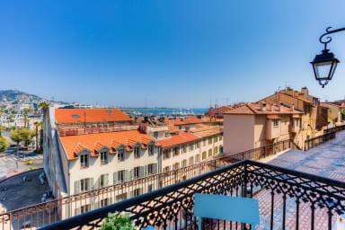 Magnifique appartement refait à neuf à Cannes Vue mer et port