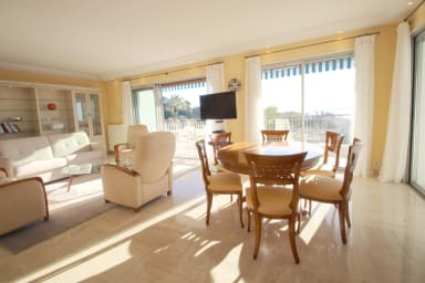 Superbe 3 chambres Piscine, terrasse vue mer panoramique, Ctr Cannes 10mn