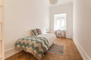 Bright and Cosy Single Room in Central Lisbon