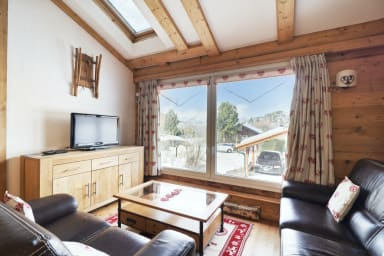 Splendid chalet in the centre of Vercorin