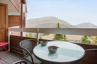 Charming flat with balcony at the heart of L'Alpe d'Huez 1860 - Welkeys