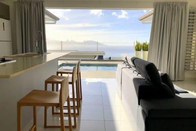 Villa Tiheni, la vue sur l'océan...
