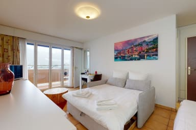 Comfortable studio 10 min. from Montreux #100