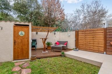 Belle villa calme avec terrasse & jardin à Bagatelle, Montpellier - Welkeys