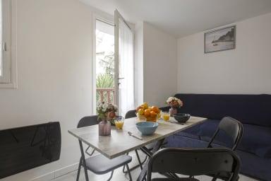 Beau studio moderne à Saint-Jean-de-Luz, à 150m de la plage - Welkeys