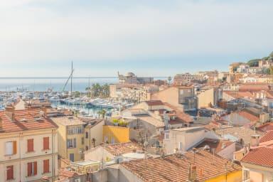 Baie de Cannes à vos pieds: Superbe 4 pièces terrasse vue mer panoramique