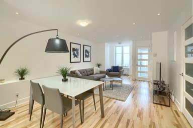Appartement meublé 2 chambres avec terrasse
