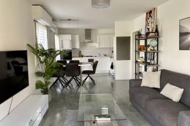 Trois pièces de 64m2, 2 chambres, parking privé dans résidence sécurisé
