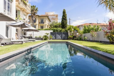 Superbe appartement avec terrasse et jardin avec piscine à Nice - Welkeys