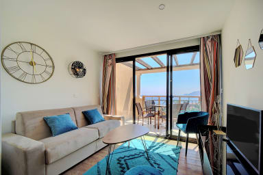 IMMOGROOM- Renovated- Sea view -Pool- Terrace- Parking - CONGRESS / BEACHES