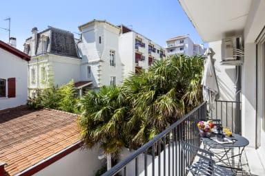 Joli appartement lumineux avec balcon à Saint-Jean-de-Luz - Welkeys