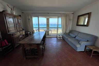 Grand appartement plage traversant 3 chambres
