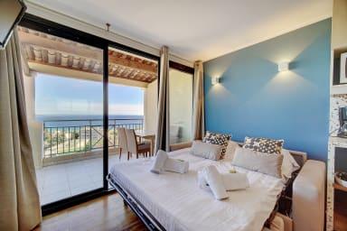 IMMOGROOM Cosy, Modern, Sea view, Terrace, A/C, Parking - CONGRESS/BEACHES